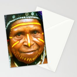 Untouched And Timeless Papua New Guinea: Villager Elder Stationery Cards