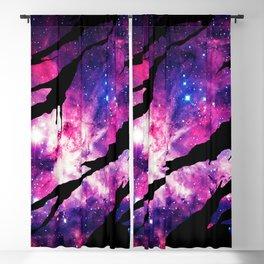 Deep Space Inside Blackout Curtain