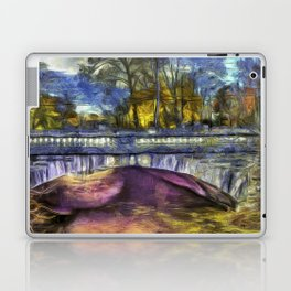The Headless Horseman Bridge Van Gogh Laptop & iPad Skin