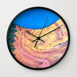 Echo Amphitheatre, Abiquiu, NM, USA Wall Clock