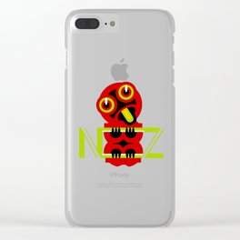 Hei Tiki New Zealand Clear iPhone Case