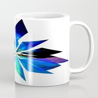 crystals Mugs featuring Crystals by Renaissance Youth