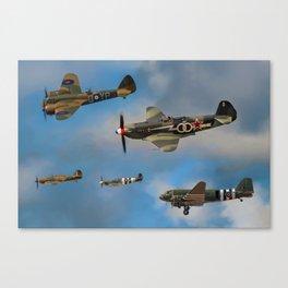 Vintage Aircraft Canvas Print