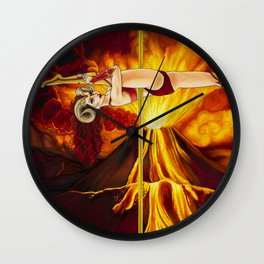 Pole Stars - Aries Wall Clock