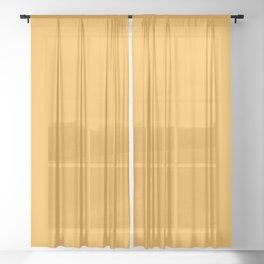 Iced Mango Sheer Curtain