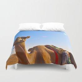 Camel Face Duvet Cover