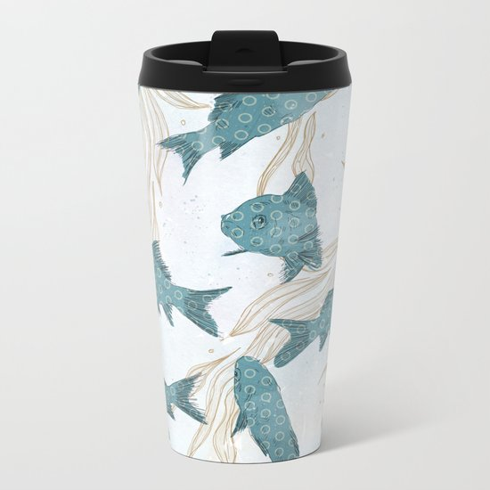 Bluefish Metal Travel Mug