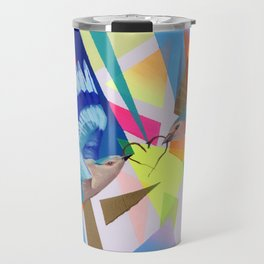 Geo Fly Birds Travel Mug