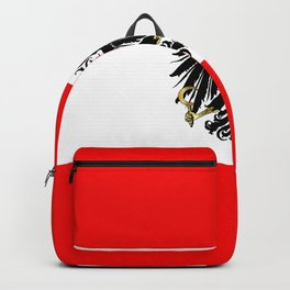 Austrian Flag and Coat of Arms Backpack