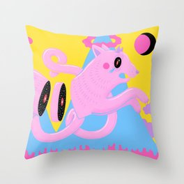 Cosmic Blood Throw Pillow