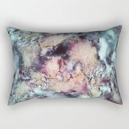 Solitary bloom Rectangular Pillow