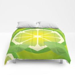 Lime Comforters