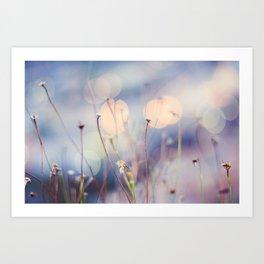 Impressions at dawn Art Print