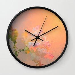 Quivering juicy moon Wall Clock