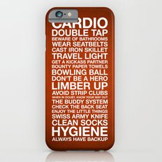 Zombieland —The Rules iPhone 6s Slim Case