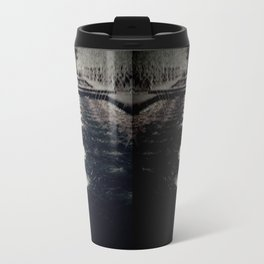 Darker Still - Fountain in Midnight and Black Travel Mug