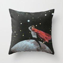 Spatial riding Throw Pillow