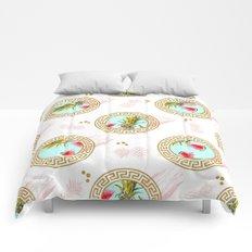 Aztec Fruit Pattern Comforters