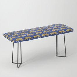 The New Animal Print - Blue Bench