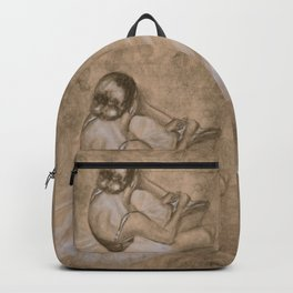 Lacing Up Backpack