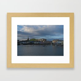 Ilfracombe At Sunset Framed Art Print