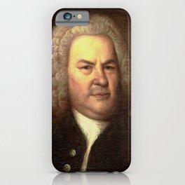 Elias Gottlob Haussmann – portrait of Bach iPhone Case