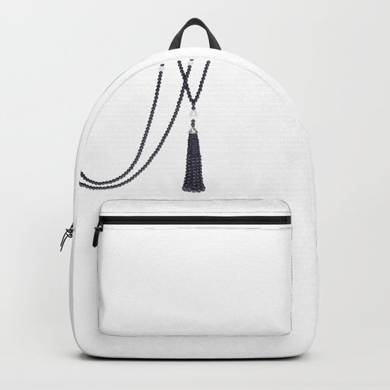 Black Pearls Backpack