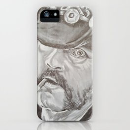 Lemmy Kilmister iPhone Case