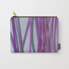 ribbon paper background magenta Carry-All Pouch
