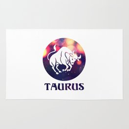 Taurus Astrological Sign Rug