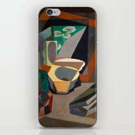Diego Rivera Still Life with Utensils iPhone Skin