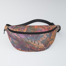 Tropical Greens Twilight Fanny Pack