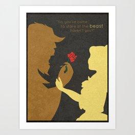 Beautiful Beast Art Print