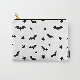 Bat and Star Halloween Carry-All Pouch