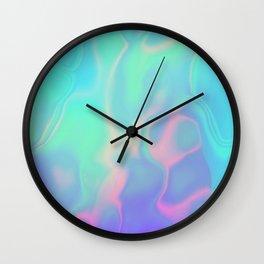 Rainbow Sea Wall Clock