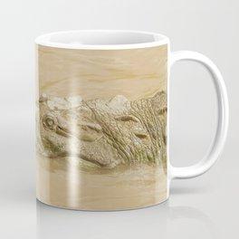 Detail of crocodile's head Coffee Mug