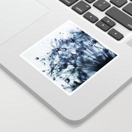 dandelion blue XII Sticker