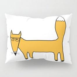 Fox and glasses Pillow Sham