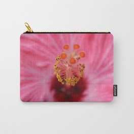 Pink Hibiscus Inner Beauty Carry-All Pouch