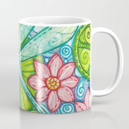 Dragonfly By Coffee Mug
