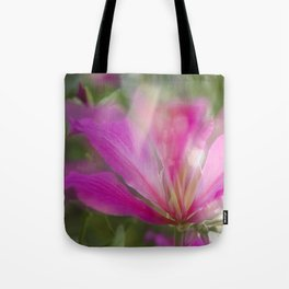 Flare Flower Tote Bag