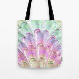 Pastel Fan Tote Bag