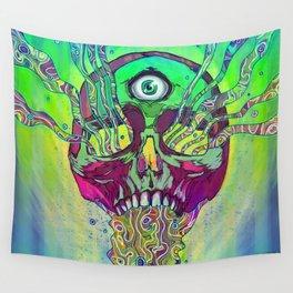 Mana Skull Wall Tapestry