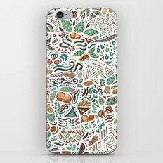 Nuts And Nature iPhone & iPod Skin