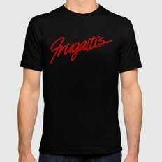 Frugatti's MEDIUM Black Mens Fitted Tee
