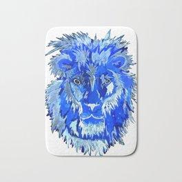 Blue Lion Spirit Bath Mat