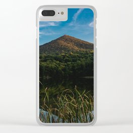 Appalachian Lake - Nature Photography Clear iPhone Case