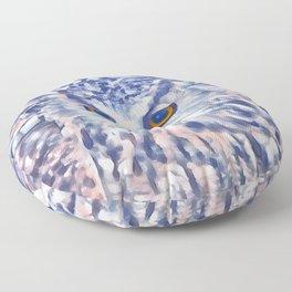 Fluffy Owl Floor Pillow
