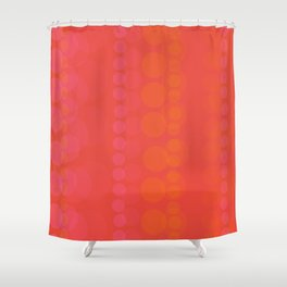 String of Pink Pearls Shower Curtain