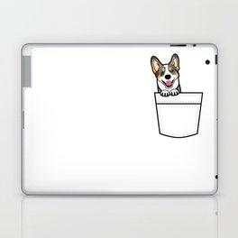 Merle Corgi in My Pocket Laptop & iPad Skin